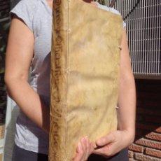 Libros antiguos: 1750 - TRACTATUS DE OFFICIALIBUS - TRACTATUS DE PASCUIS - CARRIÓN - DERECHO - GANADERIA. Lote 103372547
