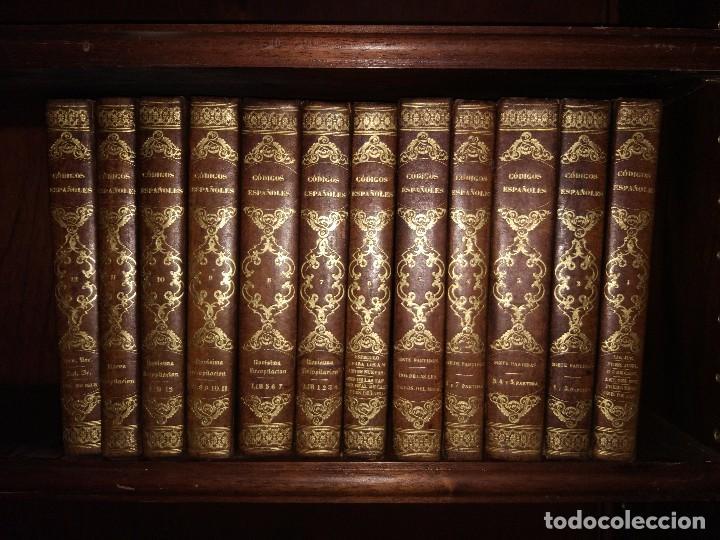 LOS CÓDIGOS ESPAÑOLES CONCORDADOS Y ANOTADOS. COLECCIÓN COMPLETA (12 VOL). 1ª EDICIÓN (1847-51) (Libros Antiguos, Raros y Curiosos - Ciencias, Manuales y Oficios - Derecho, Economía y Comercio)