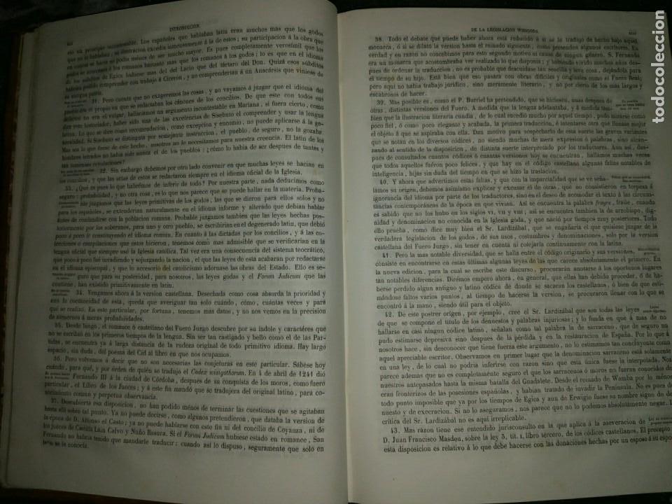 Libros antiguos: Los Códigos Españoles Concordados y Anotados. Colección Completa (12 vol). 1ª Edición (1847-51) - Foto 3 - 178624405