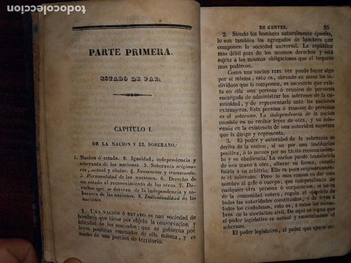 Libros antiguos: Principios de Derecho de Gentes. Andrés Bello. Madrid. 1843 - Foto 5 - 103725019