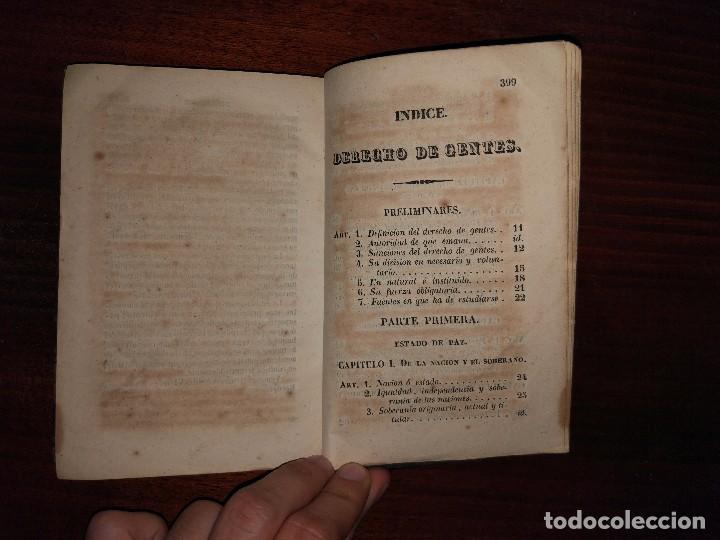 Libros antiguos: Principios de Derecho de Gentes. Andrés Bello. Madrid. 1843 - Foto 6 - 103725019