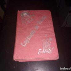Libros antiguos: LIBRO LEGISLACION DEL TRABAJO DE LOS AYUNTAMIENTOS Y JUZGADOS MUNICIPALES , D. JOSE VILA SERRA 1910. Lote 103855839