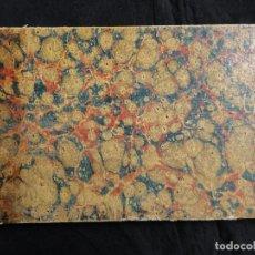 Libros antiguos: MANUAL DE TENEDURÍA DE LIBROS POR PARTIDA DOBLE, POR FELIPE SALVADOR Y AZNAR, 1ª EDICIÓN, 1846. Lote 103857775