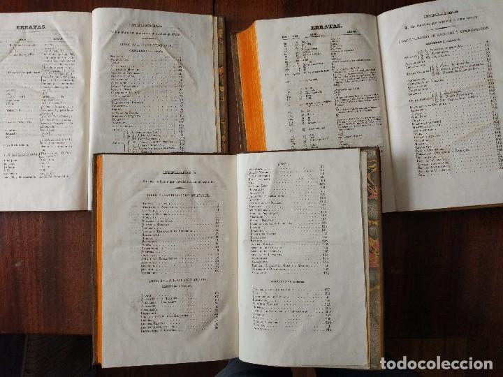 Libros antiguos: Recopilación Estractada, Ordenada y Metódica de las Leyes de 1833 a 1841. 3 Vol (1841) - Foto 4 - 104044703