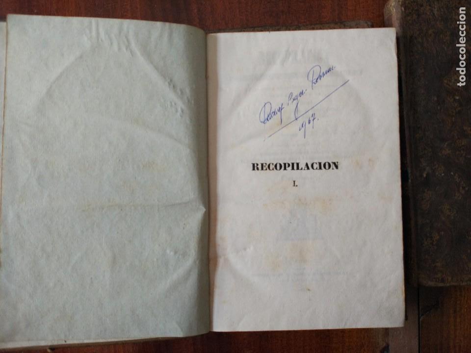 Libros antiguos: Recopilación Estractada, Ordenada y Metódica de las Leyes de 1833 a 1841. 3 Vol (1841) - Foto 5 - 104044703