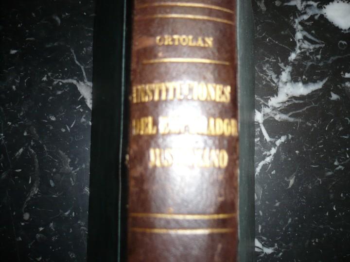 Libros antiguos: EXPLICACION HISTORICA DE LAS INSTITUCIONES DE JUSTINIANO M.ORTOLAN 1872 - Foto 8 - 105316767