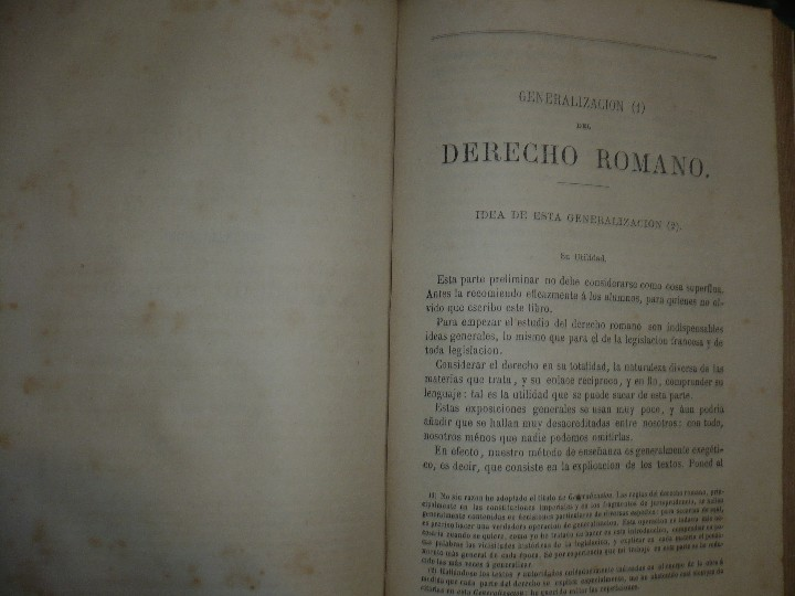 Libros antiguos: EXPLICACION HISTORICA DE LAS INSTITUCIONES DE JUSTINIANO M.ORTOLAN 1872 - Foto 6 - 105316767