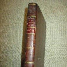 Libros antiguos: TEATRO DE LA LEGISLACIÓN UNIVERSAL DE ESPAÑA E INDIAS 1797, TOMO XV, GENERALES ALMIRANTES GITANOS. Lote 105643799