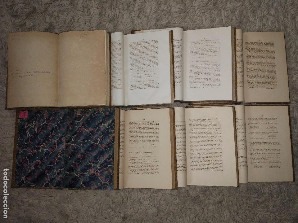 Libros antiguos: Leyes y Decretos Promulgados en la Provincia de Buenos Aires desde 1810 a 1878. 8/9 Vol Falta tomo 3 - Foto 4 - 106071067