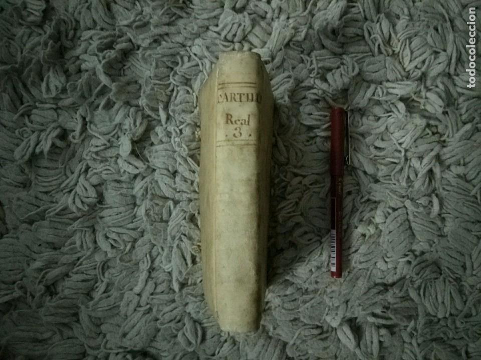 Libros antiguos: Cartilla Real Theorica-Practica para Escrivanos. Tomo III. Diego Bustoso y Lisares. 1768. Pergamino - Foto 2 - 106083563
