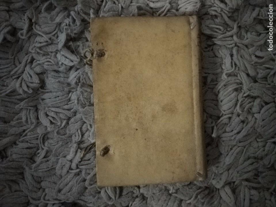 Libros antiguos: Cartilla Real Theorica-Practica para Escrivanos. Tomo III. Diego Bustoso y Lisares. 1768. Pergamino - Foto 4 - 106083563