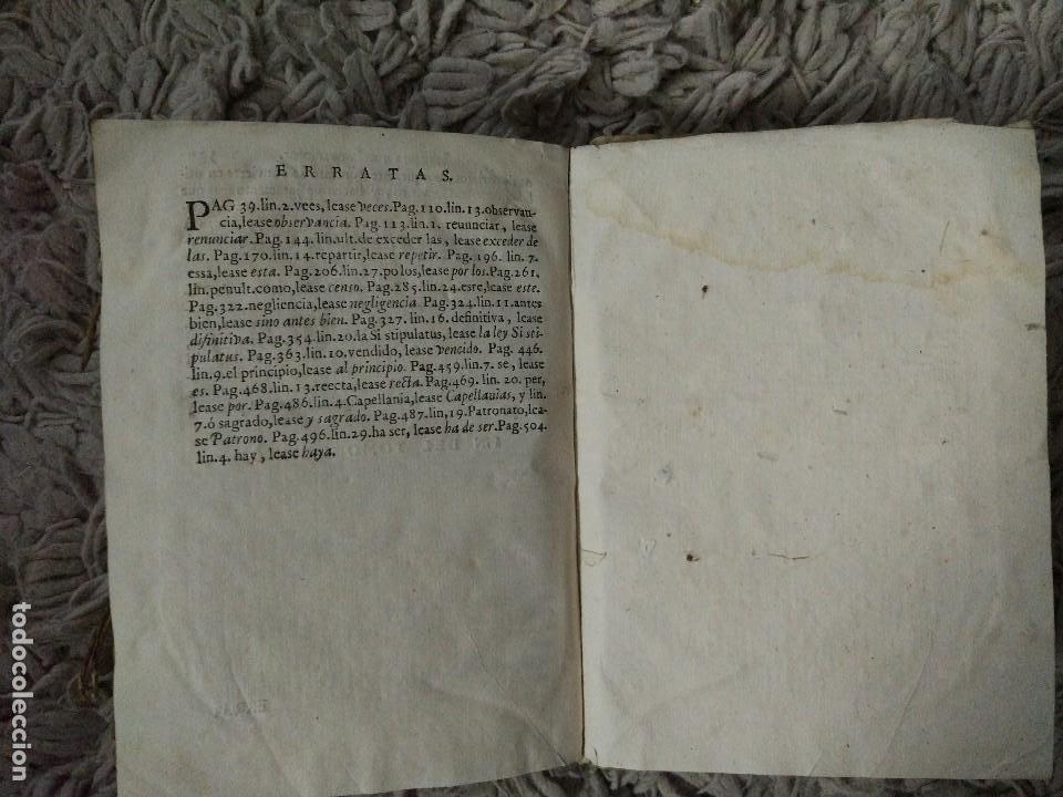Libros antiguos: Librería de Escribanos. Tomo II. En Pergamino. 1774 Joseph Febrero - Foto 5 - 106773387