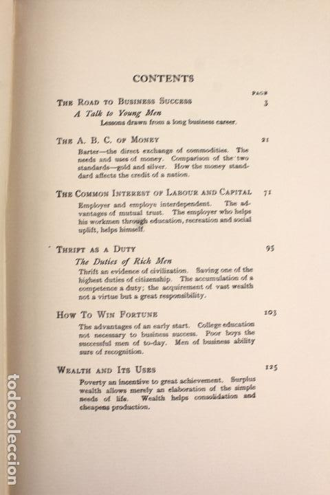 L-4557  the empire of business  andrew carnegie - Sold