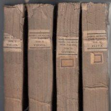 Libros antiguos: PAIS VASCO. CÉDULAS, CARTAS-PATENTES, PROVISIONES, REALES ORDENES... 4 VOLS. MADRID, 1829-1833. Lote 108368223