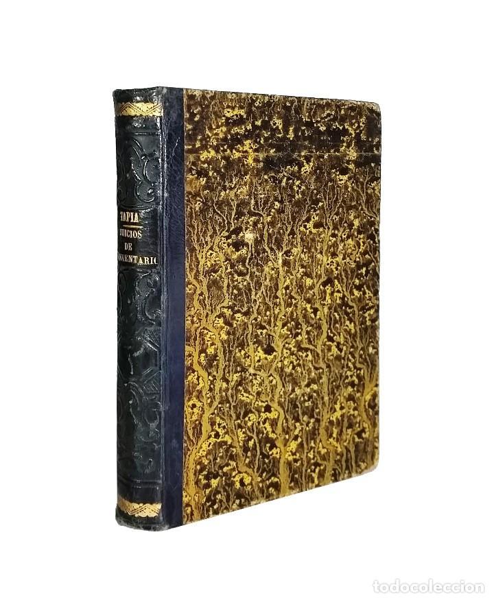 MANUAL TEÓRICO-PRÁCTICO DE LOS JUICIOS DE INVENTARIO // EUGENIO DE TAPIA // ((1872)) (Libros Antiguos, Raros y Curiosos - Ciencias, Manuales y Oficios - Derecho, Economía y Comercio)