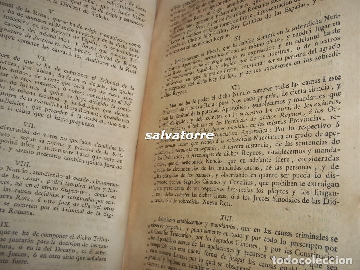 Libros antiguos: JOSE DE COVARRUBIAS.MAXIMAS SOBRE RECURSOS DE FUERZA Y PROTECCION.TRIBUNALES.1788 - Foto 6 - 108909611