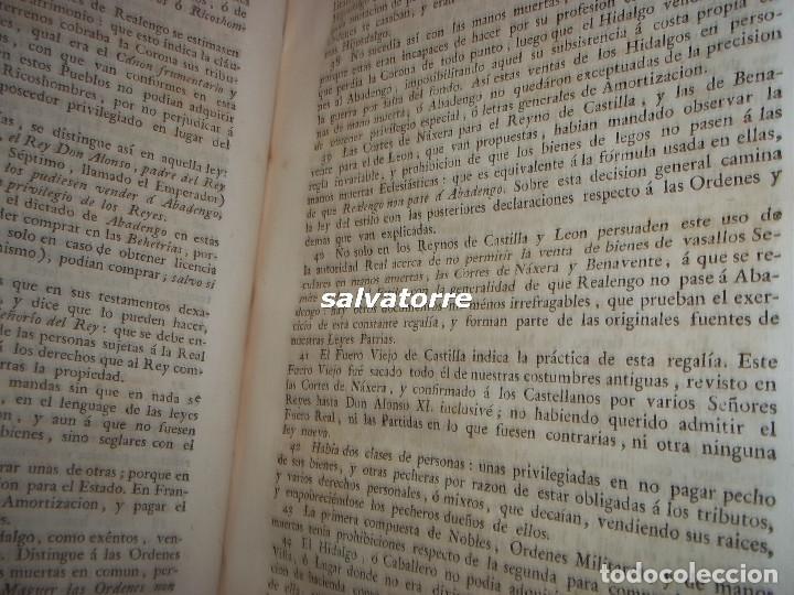 Libros antiguos: JOSE DE COVARRUBIAS.MAXIMAS SOBRE RECURSOS DE FUERZA Y PROTECCION.TRIBUNALES.1788 - Foto 7 - 108909611