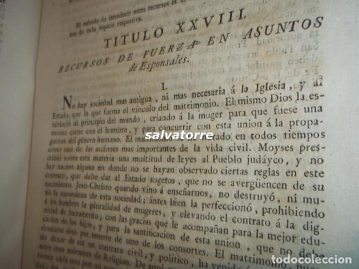 Libros antiguos: JOSE DE COVARRUBIAS.MAXIMAS SOBRE RECURSOS DE FUERZA Y PROTECCION.TRIBUNALES.1788 - Foto 11 - 108909611