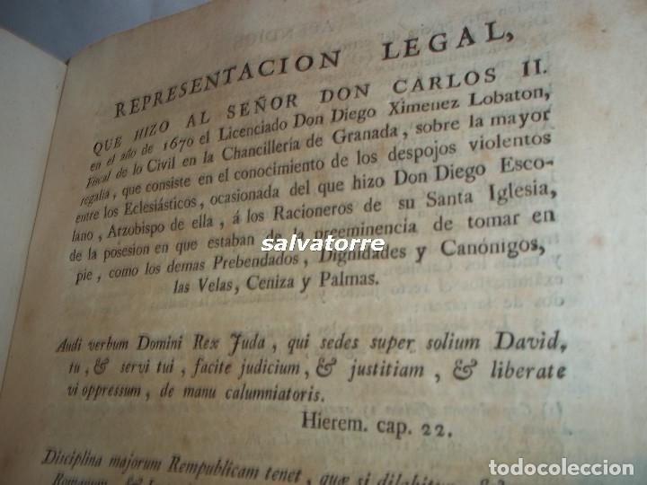 Libros antiguos: JOSE DE COVARRUBIAS.MAXIMAS SOBRE RECURSOS DE FUERZA Y PROTECCION.TRIBUNALES.1788 - Foto 14 - 108909611