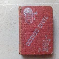 Libros antiguos: ANTIGUO LIBRO CODIGO CIVIL. Lote 110092827