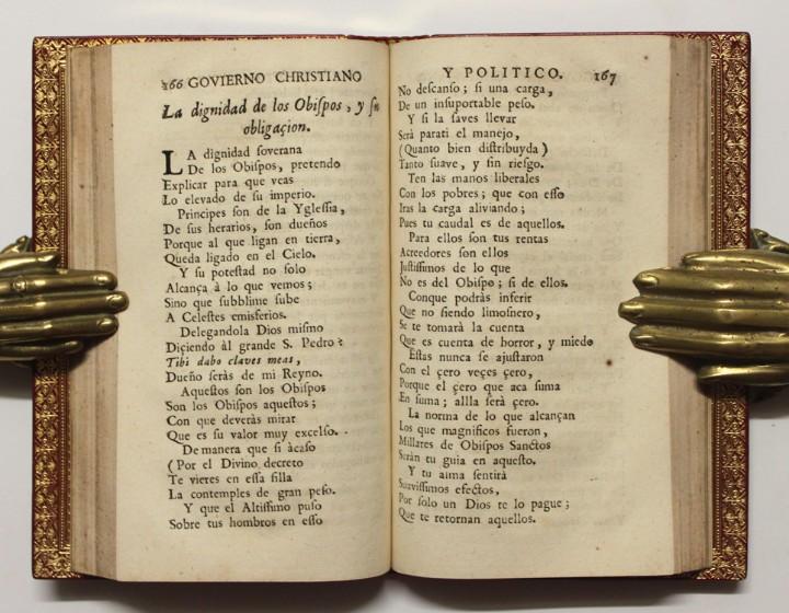 Libros antiguos: GOVIERNO CHRISTIANO Y POLITICO. - VELEZ LADRON DE GUEVARA, Cristóbal. [ENC. BRUGALLA.] - Foto 5 - 109023555