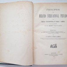 Libros antiguos: DERECHO INTERNACIONAL PRIVADO, D. MANUEL TORRES CAMPOS, MADRID 1883. Lote 110483683