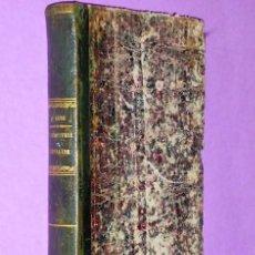 Libros antiguos: DE L´INDUSTRIE CHEVALINE EN FRANCE ET DES MOYENS PRATIQUES D´EN ASSURER LA PROSPÉRITÉ. (1847). Lote 110737295