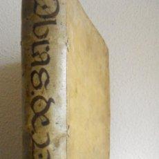 Libros antiguos: VALBOA MOGROVEJO: LECTIONES SALMANTICENSES , SALAMANCA 1629, ENC. PERGAMINO. DERECHO. Lote 110797883