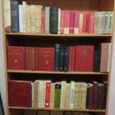 Libros antiguos: TREMENDO LOTE DE 87 LIBROS VARIADOS DE DERECHO - CIVIL,PENAL,POLÍTICO,CONSTITUCIONAL, CANÓNICO, ETC. Lote 111423391