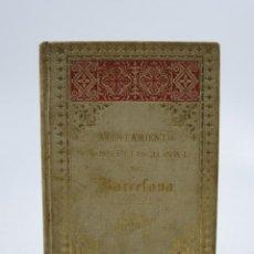 Libros antiguos: AYUNTAMIENTO CONSTITUCIONAL DE BARCELONA, 1887. 9,7X15,5CM. Lote 111866159
