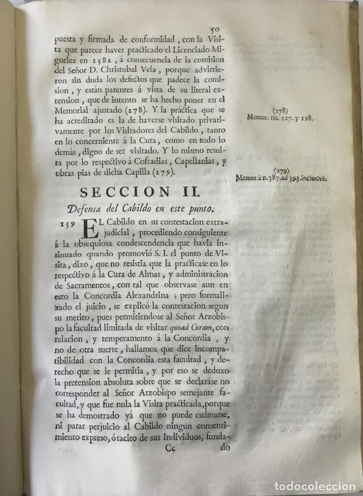 Libros antiguos: COMPENDIO DE LOS ESTATUTOS DE ESTA SANTA IGLESIA METROPOLITANA DE BURGOS, HECHOS EL AÑO DE MIL Y QUI - Foto 6 - 112436459