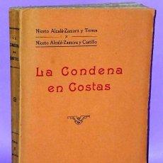 Libros antiguos: LA CONDENA EN COSTAS. Lote 112691419