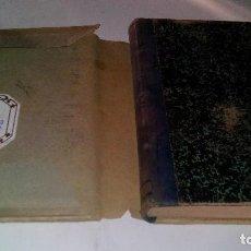Libros antiguos: EL TESORO DE LA CONTABILIDAD MERCANTIL-FERNANDO LÓPEZ TORAL - F GOMEZ PASTOR ZARAGOZA 1901. Lote 112858619