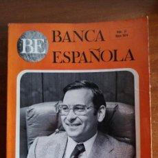 Libros antiguos: LIBRO DE ECONOMÍA. BANCA ESPAÑOLA. N° 51. 1974. Lote 113140523