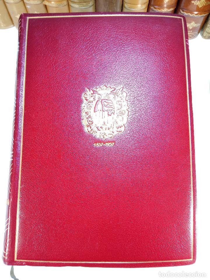 Libros antiguos: UN SIGLO EN LA VIDA DEL BANCO DE BILBAO - PRIMER CENTENARIO (1857-1957) - BILBAO - 1957 - - Foto 2 - 113260739