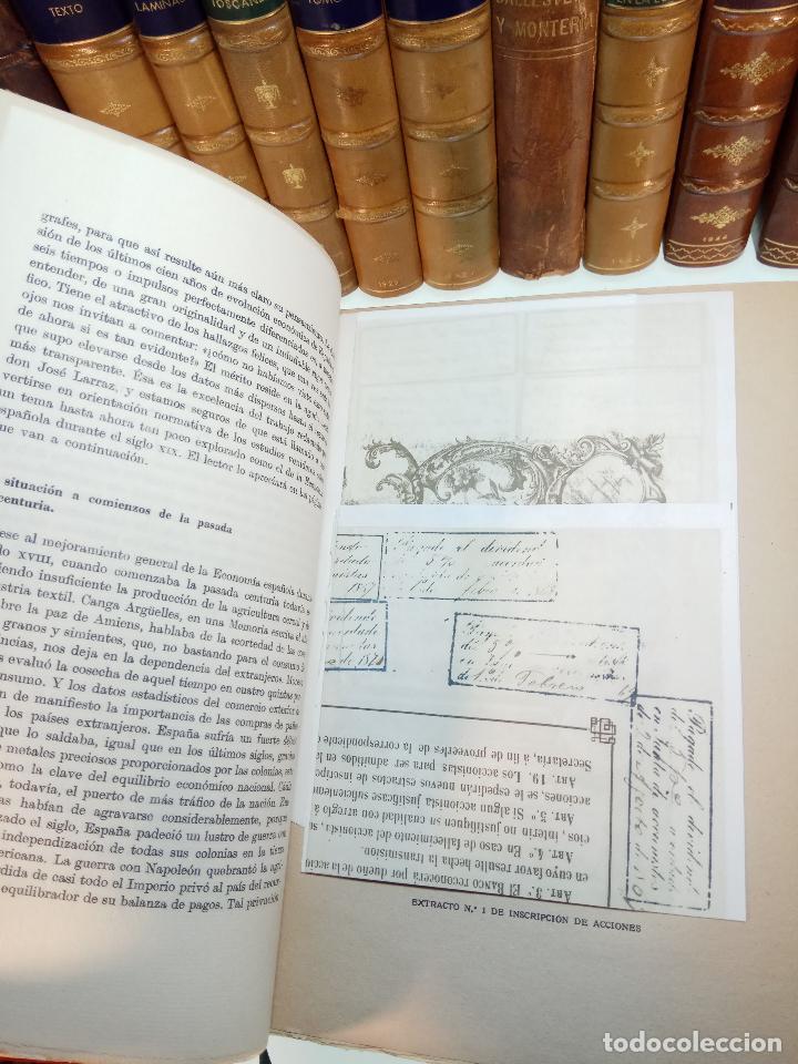 Libros antiguos: UN SIGLO EN LA VIDA DEL BANCO DE BILBAO - PRIMER CENTENARIO (1857-1957) - BILBAO - 1957 - - Foto 7 - 113260739
