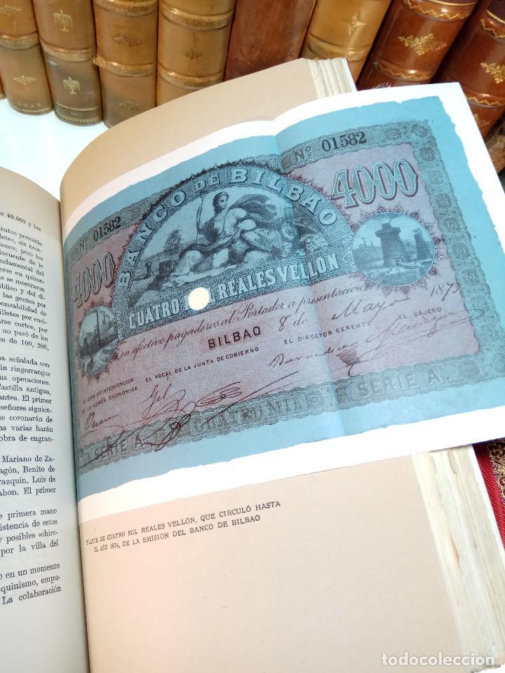 Libros antiguos: UN SIGLO EN LA VIDA DEL BANCO DE BILBAO - PRIMER CENTENARIO (1857-1957) - BILBAO - 1957 - - Foto 11 - 113260739
