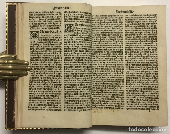 Libros antiguos: VIATORIUM SEU DIRECTORIUM IURIS: EX VISCERIBUS ET MEDULLIS IURIS USTRIUSQ[UE] excerptum... BRUGALLA - Foto 10 - 113748399