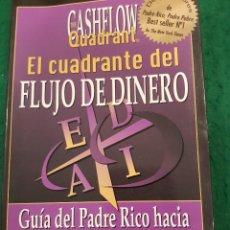 Libros antiguos: EL CUADRANTE DEL FLUJO DE DINERO - ROBERT T. KIYOSAKI. Lote 115231623