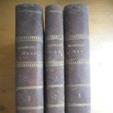 Libros antiguos: ORDENANZAS DE S.M. PARA EL REGIMEN DE DISCLIPINA, SUBORDINACION Y SERVICIOS DE SUS EJERCITOS 1880 . Lote 115237931