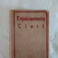 Libros antiguos: ENJUICIAMIENTO CIVIL - ED. GONGORA - MADRID 1881.. Lote 115502455