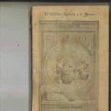 Libros antiguos: EL CRÉDITO AGRÍCOLA Y EL AHORRO. F. RIVAS MORENO. Lote 115904531