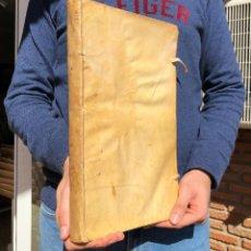 Libros antiguos: 1739 DE PRIVILEGIIS CREDITORUM - ACOSTA, NONIO - DERECHO - PERGAMINO - GRAN FOLIO. Lote 116178435