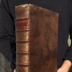 Libros antiguos: 1712 - VARIARUM RESOLUTIONUM JURIS CAESAREI - FOLIO - PERGAMINO - BARBASTRO - BARCELONA - CATALUNYA. Lote 116612695