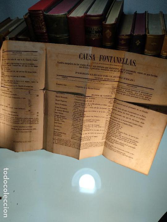 Libros antiguos: DISCURSOS PRONUNCIADOS EN DEFENSA DE D. CLAUDIO FONTANELLAS - D. JOSÉ INDALECIO CASO - CIRCA 1860 - - Foto 6 - 116902107