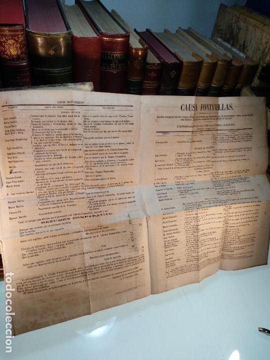 Libros antiguos: DISCURSOS PRONUNCIADOS EN DEFENSA DE D. CLAUDIO FONTANELLAS - D. JOSÉ INDALECIO CASO - CIRCA 1860 - - Foto 7 - 116902107