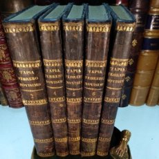 Libros antiguos: FEBRERO NOVÍSIMO O LIBRERÍA DE JUECES, ABOGADOS Y ESCRIBANOS - 5 TOMOS - VALENCIA - 1828 -. Lote 117000523