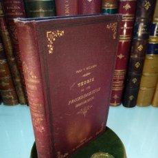 Libros antiguos: TEORÍA DE LOS PROCEDIMIENTOS CONTENCIOSO-ADMINISTRATIVO - PASO Y DELGADO - MADRID - 1889 - . Lote 117374031