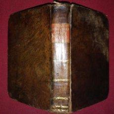 Libros antiguos: 1820 ELEMENTOS DEL DERECHO NATURAL - BURLAMAQUI - IMPRENTA MINERVA ESPAÑOLA. Lote 117918715