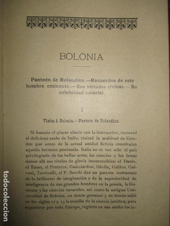 Libros antiguos: ESTUDIOS HISTÓRICO FILOSÓFICOS SOBRE EL NOTARIADO. ROLANDINO Y SUS OBRAS.FALGUERA, Félix María. 1894 - Foto 6 - 118151479